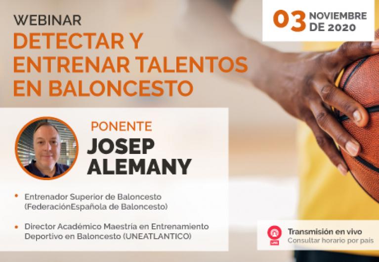 """UNINI México participa en el webinar """"Detectar y entrenar talentos en Baloncesto"""""""