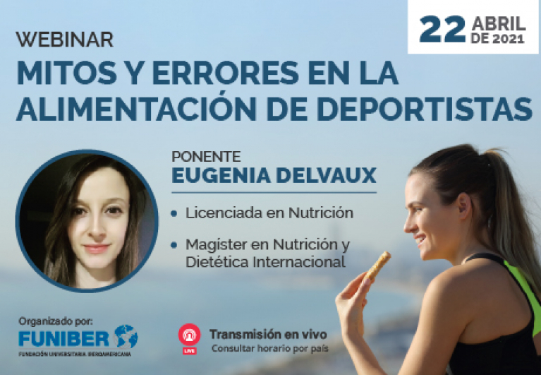 UNINI México participa en webinar sobre mitos y errores que rodean la alimentación de deportistas