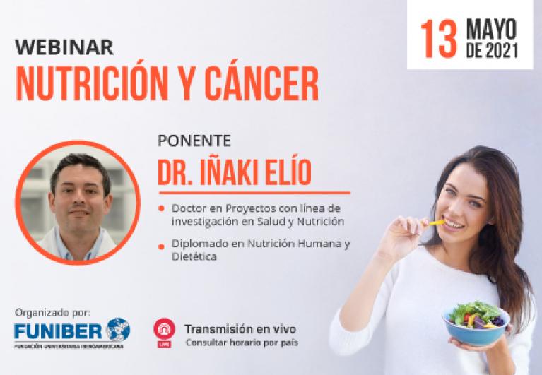 Participación de UNINI México en webinar sobre nutrición y cáncer