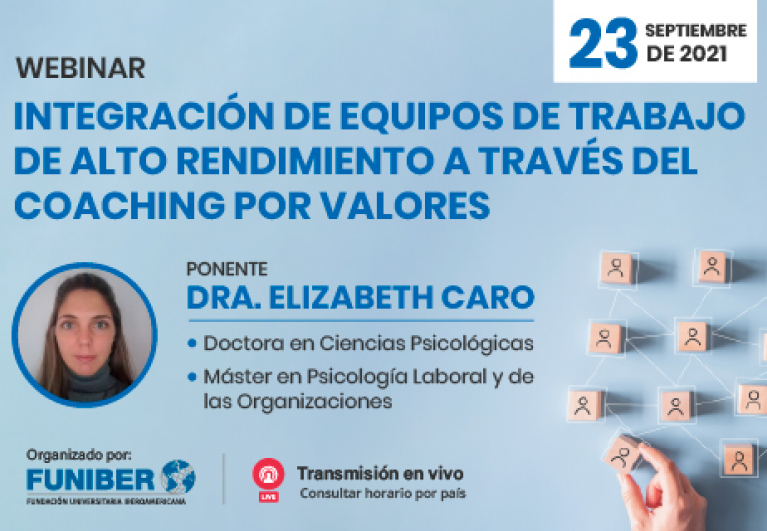 Participación de UNINI México en webinar sobre coaching en equipos de trabajo