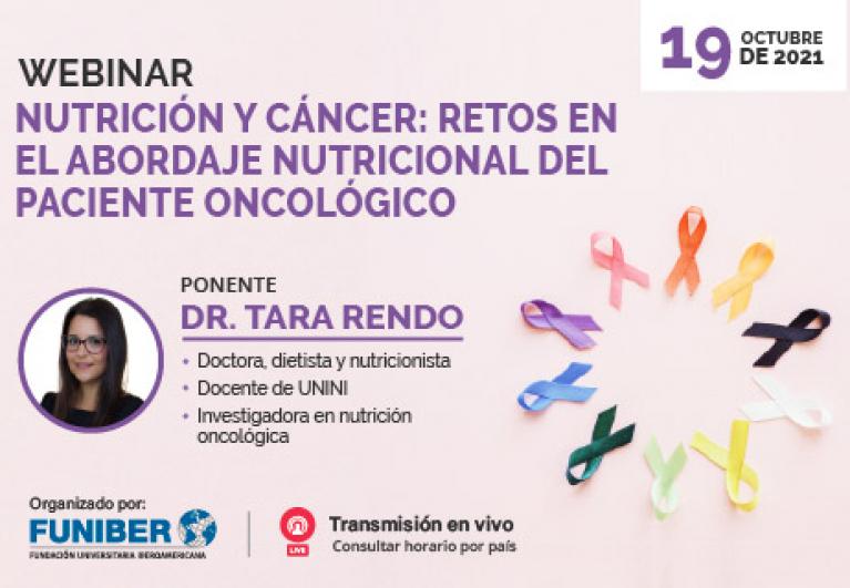 Participación de UNINI México en webinar sobre la influencia de la nutrición en el cáncer