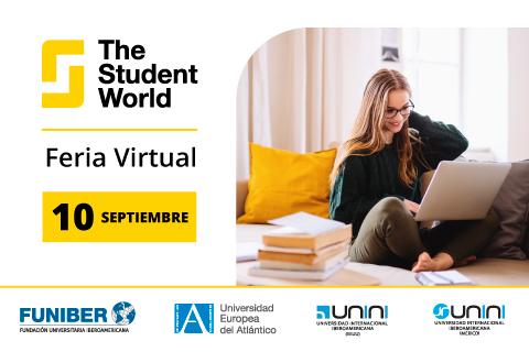 UNINI México presentará su oferta académica en la Feria Virtual The Student World