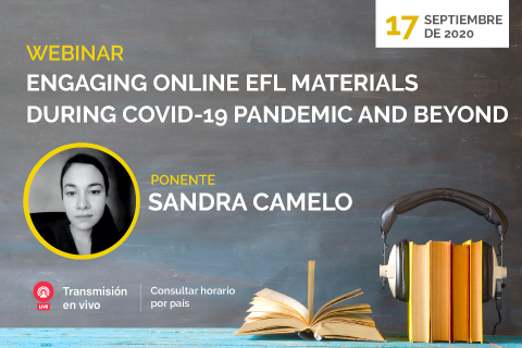 Webinar sobre materiales online del aprendizaje de inglés como lengua extranjera
