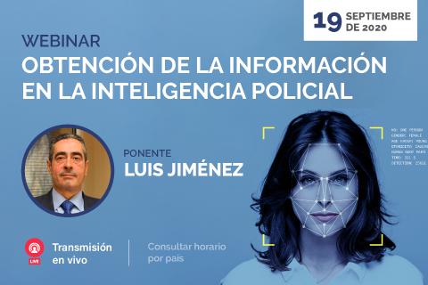 UNINI participa en webinar sobre la obtención de información en la inteligencia policial