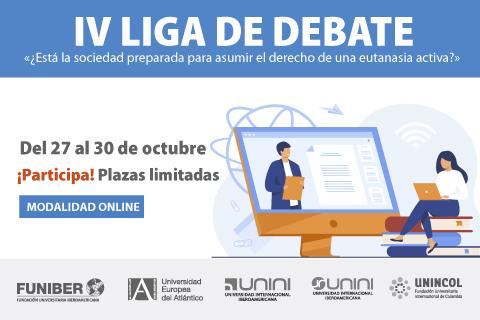 Inician las inscripciones a la IV Edición de la Liga de Debate