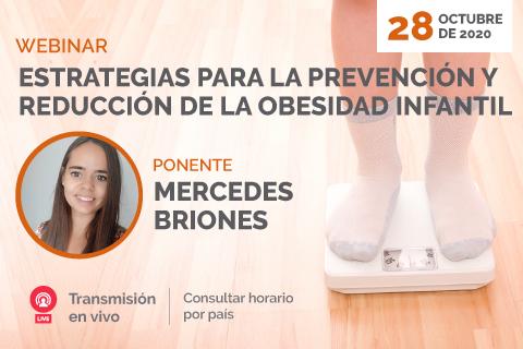 Docente de UNINI México impartirá webinar sobre la obesidad infantil