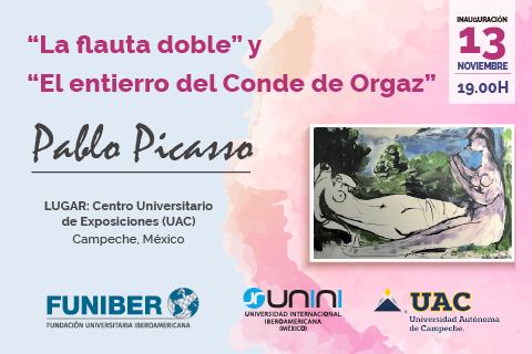 """UNINI México colabora en la exposición de las colecciones «El Entierro del Conde de Orgaz"""" y """"La Flauta Doble» de Pablo Picasso"""
