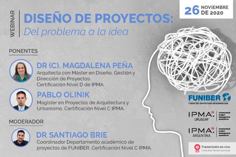 """UNINI México participa en el webinar """"Diseño de proyectos: Del problema a la idea"""""""