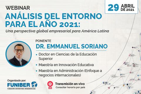 UNINI México participa en webinar enfocado en la perspectiva empresarial latinoamericana
