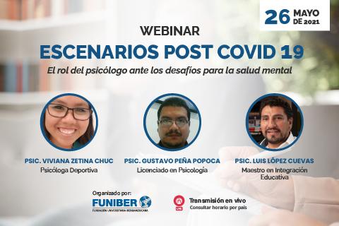 Participación de UNINI México en webinar sobre psicología y Covid-19
