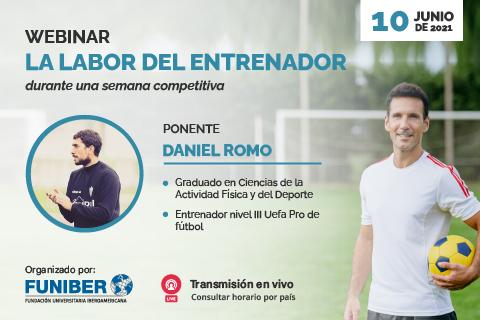 Participación de UNINI México en webinar sobre la figura del entrenador en el fútbol